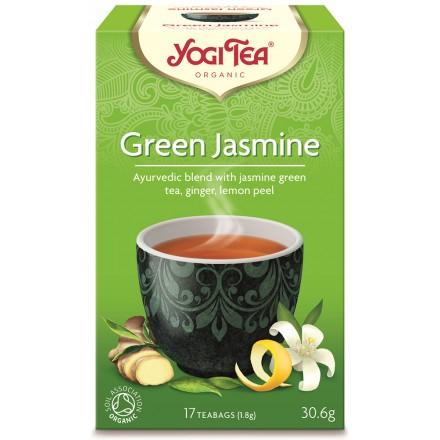 YOGI TEA GREEN JASMINE ΒΙΟ 306ΓΡ