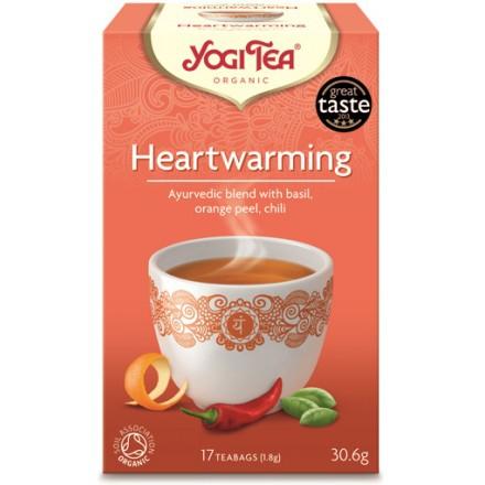 YOGI TEA HEARTWARMING 306gr progressive