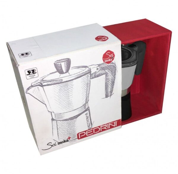 Espresso 2 Φλιτζανιών Pedrini SeiMoka Plus 02CF055 1