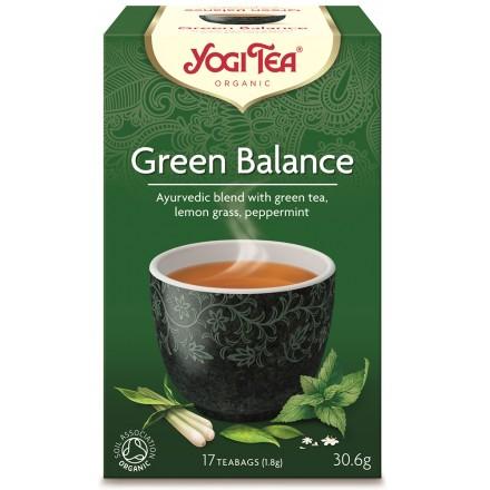 YOGI TEA GREEN BALANCE ΒΙΟ 306ΓΡ
